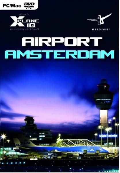 Airport Amsterdam (X-Plane 10) (PC, Mac)