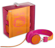 Hello Kitty Headphones - Funky Town Pink