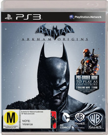 Batman: Arkham Origins + Digital Bonus (PS3)