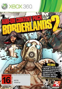 Borderlands 2 Add-on Content Pack (X360)