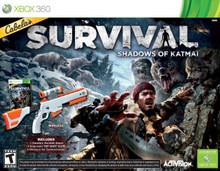 Cabela's Survival: Shadows of Katmai with Gun (X360)