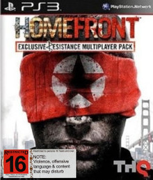 Homefront (Exclusive Resistance Multiplayer Pack) (PS3)