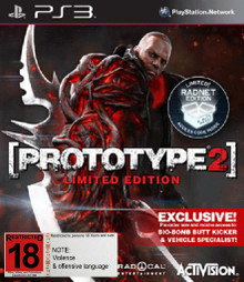 Prototype 2 Limited Radnet Edition (PS3)