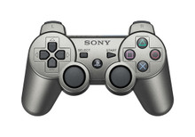 Sony PS3 DualShock 3 Wireless Sixaxis Controller Metallic Grey