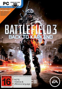 Battlefield 3 Back to Karkand Expansion (PC)