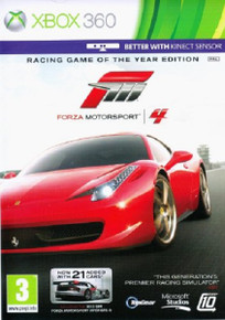 Forza Motorsport 4 Game of the Year Edition (X360)
