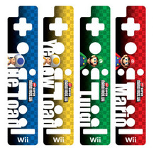 Wii Remote Decorative Skin Set - Super Mario Bros1