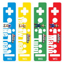 Wii Remote Decorative Skin Set - Super Mario Bros2