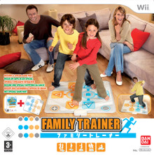 Family Trainer: Double Challenge with Mat (Wii)