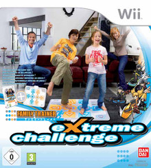 Family Trainer: Extreme Challenge with Mat (Wii)
