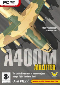 A400M Airlifter  [Add-On for Microsoft Flight Simulator X and 2004] (PC)