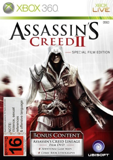 Assassin S Creed Ii Special Lineage Film Edition X360 First