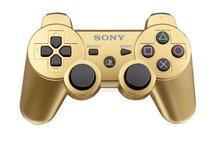 Sony PS3 DualShock 3 Wireless Sixaxis Controller Metallic Gold