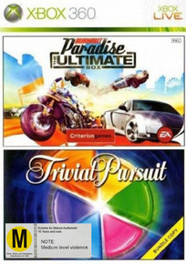 Burnout Paradise: The Ultimate Box & Trivial Pursuit Double Pack Game (X360)
