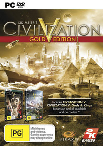 Sid Meier's Civilization V: Gold Edition (PC)