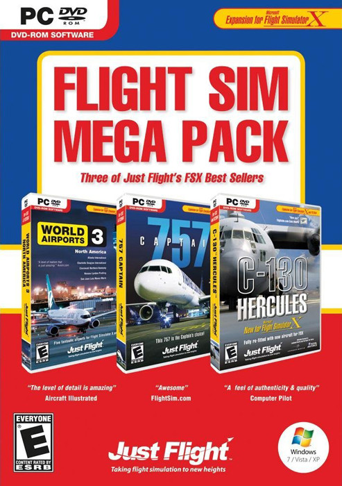 Flight Sim Mega Pack [Special Limited Edition - 3 Games in 1] (PC)