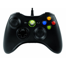 Microsoft Xbox 360 Wired Controller Black