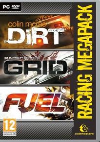 Racing Mega Pack Grid Dirt Fuel - 3 Games in 1 Pack (PC)