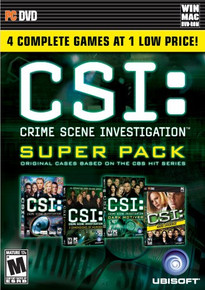 CSI: Crime Scene Investigation Super Pack (PC)