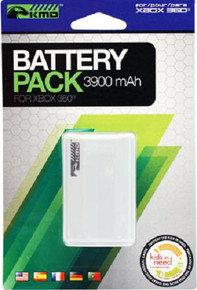 White Rechargeable Battery Pack for Xbox 360 Controller