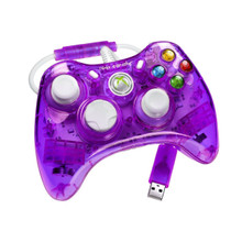 Purple Rock Candy Xbox 360 Controller by PDP - Officially Licensed by Microsoft