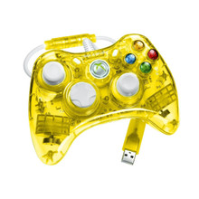 Yellow Rock Candy Xbox 360 Controller by PDP - Officially Licensed by Microsoft