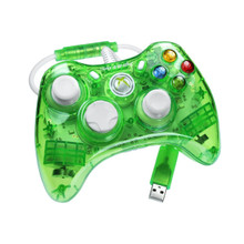 "Rock Candy Xbox 360 Controller ""Lala Lime"" by PDP"