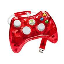 "Rock Candy Xbox 360 Controller ""Stormin' Cherry"" by PDP"