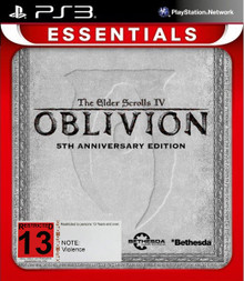 Elder Scrolls IV Oblivion 5th Anniversary Edition (PS3)