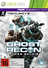 Tom Clancy's Ghost Recon Future Soldier (X360)