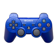 Sony PS3 DualShock 3 Wireless Sixaxis Controller Blue