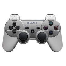 Sony PS3 DualShock 3 Wireless Sixaxis Controller Silver