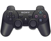 Sony PS3 DualShock 3 Wireless Sixaxis Controller Black