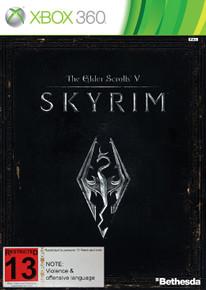 Elder Scrolls V Skyrim (X360)