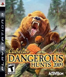 Cabela's Dangerous Hunts 2009 (PS3)
