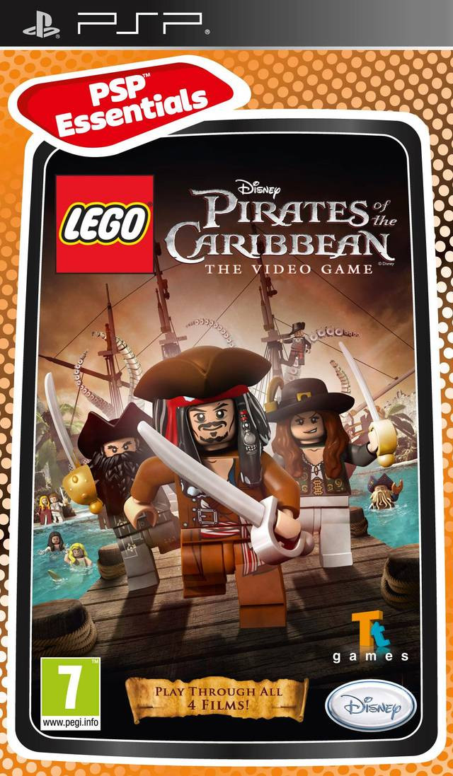 Lego Pirates Of The Caribbean Psp First Games