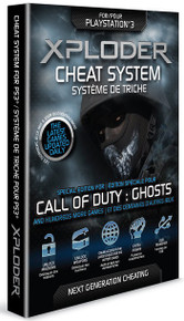 Xploder Cheat System Special COD Ghosts Edition (PS3)