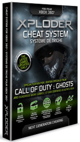 Xploder Cheat System Special COD Ghosts Edition (X360)