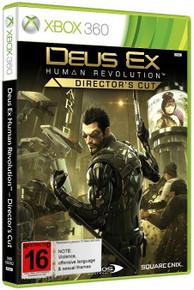 Deus Ex: Human Revolution - Directors Cut (X360)