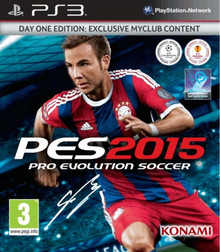 Pro Evolution Soccer 2015 Day One Edition (PS3)