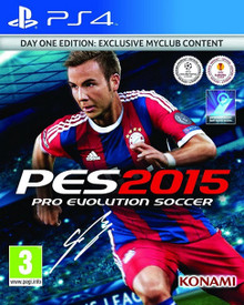 Pro Evolution Soccer 2015 Day One Edition (PS4)