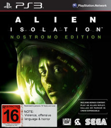 Alien Isolation Nostromo Edition (PS3)
