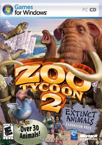 Zoo Tycoon 2 Extinct Animals Expansion (PC)