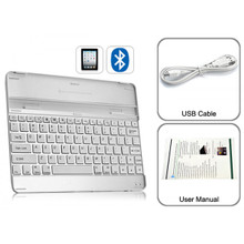 Ultrathin Aluminium Wireless Bluetooth Keyboard for iPad 2 & 3