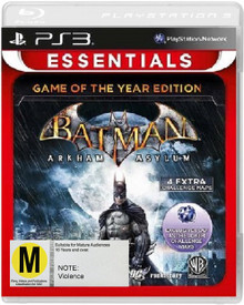 Batman: Arkham Asylum - Game of the Year Edition Essentials (PS3)