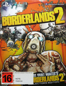 Borderlands 2 Deluxe Vault Hunter's Collectors Edition (PS3)