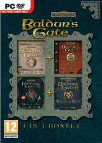 Baldur's Gate 4 in 1 Box Set (PC)