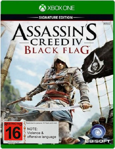 Assassin S Creed Iv Black Flag Signature Edition Xbox One