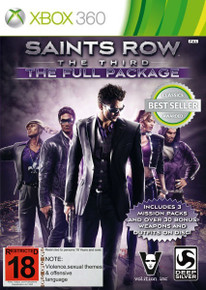 Saints Row The Third The Full Package (X360)