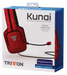 Tritton Kunai Universal Headset - Red